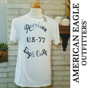 American Eagle Graphic Short Sleeve Tee shirt M